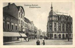 RUHRORT, Duisburg, Friedrichsplatz, Rheinischer Hof (1915) AK - Germany