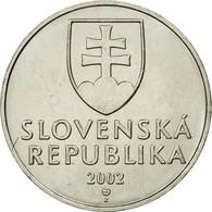 Monnaie, Slovaquie, 2 Koruna, 2002, TTB, Nickel Plated Steel, KM:13 - Slovaquie