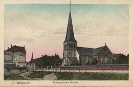 MEIDERICH, Duisburg, Evangelische Kirche (1920s) AK - Duisburg