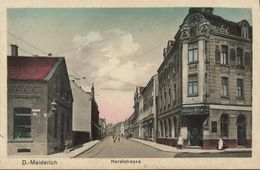 MEIDERICH, Duisburg, Horststrasse, Union-Bier (1920s) AK - Duisburg