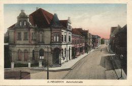 MEIDERICH, Duisburg, Bahnhofstrasse, Hotel Bergischer Hof (1920s) AK - Duisburg