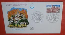 FRANKREICH 2024 Cept Europa - Dorf Provence  -- FDC Cover (2 Foto)(136321) - FDC
