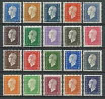 FRANCE 1945 . Série N°s 682 à 701  Neufs ** (MNH) - 1944-45 Marianne Of Dulac