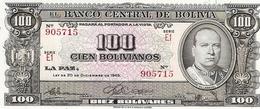 Bolivia   100 Boliviares  1945 - Bolivie
