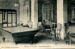 N°65290 -cpa Château De Durtol -gran Hall Et Billard- - France