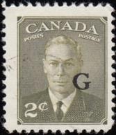 CANADA - Scott #O17 King George VI 'Overprinted' / Used - Service