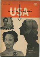 USA In Wort Und Bild - Heft 3 1950 - 50 Seiten Mit Vielen Abbildungen - Contemporary Politics