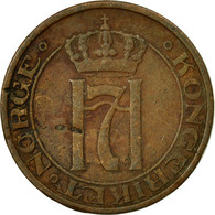 Monnaie, Norvège, Haakon VII, 2 Öre, 1940, TB+, Bronze, KM:371 - Norvège