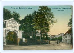 XX002020/ Berlin Rahnsdorf Dorfstraße Mit Paradiesgarten AK 1918 - Autres