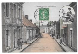 CHALLES - Rue Principale (vue Animée) - Otros Municipios