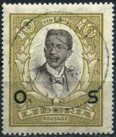 LIBERIA 1923 - [Official Stamps / Dienstmarken] Mi. 139 O, President C.D.B. King (1878-1961)   Overprinted. - Liberia