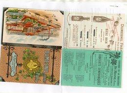 75.PARIS...LIVRET PUB...DUMESNIL...BRASSEURS...8 PAGES..........LOT 3 - Cafés, Hôtels, Restaurants