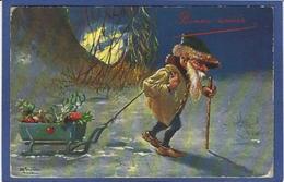 CPA Gnome Lutain Nain Non Circulé Champignon Mushroom - Fairy Tales, Popular Stories & Legends