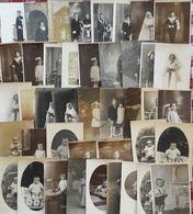 Lot De 55 Cartes Photos  - Enfants, Bébés Et Familles - Cartes Postales