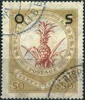 LIBERIA 1923 - [Official Stamps / Dienstmarken] Mi. 144 O, Ananas Comosus   Overprinted. - Liberia
