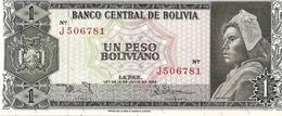 Bolivia  P-158   1 Boliviano  1962  UNC - Bolivie
