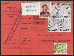 1963 Iceland Pacelcard Reykjavik - 1944-... Republic