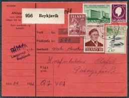 1962 Iceland Pacelcard Reykjavik - 1944-... Republic