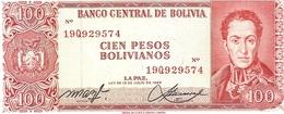 Bolivia  P-163  BolivianoS  1962 - Bolivie