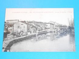 12 ) Villefranche-de-rouergue - N° 624 - Avenue De Quercy - L'etang  : Année 1919 : EDIT : Poux - Villefranche De Rouergue