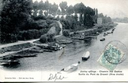 N°65297 -cpa Juvisy Sur Orge -chemin Des Dames- - Juvisy-sur-Orge