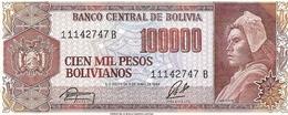 Bolivia  P-171  100000  Bolivianos  1984   UNC - Bolivie
