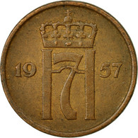 Monnaie, Norvège, Haakon VII, 2 Öre, 1957, TTB, Bronze, KM:399 - Norvège