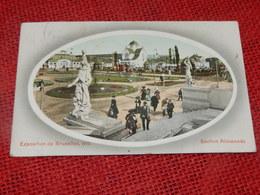BRUXELLES - EXPOSITION  1910 -  Section Allemande - Wereldtentoonstellingen