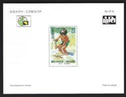 Feuillet NA13 Europa 2001 - Belgique