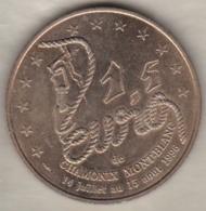 1,5 Euro 1996 De Chamonix Mont-Blanc , 175 Anniversaire  De La Compagnie Des Guides 1821 -1996. - Euros Of The Cities