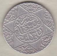 Maroc. 2 1/2 Dirhams (1/4 Rial) AH 1320 Londres. Abdül Aziz I, En Argent - Marruecos