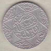 Maroc. 2 1/2 Dirhams (1/4 Rial) AH 1320 Londres. Abdül Aziz I, En Argent - Marokko