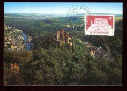 Luxembourg - Carte Maximum 1983 - Le Château De Vianden - O 209 - Maximum Cards