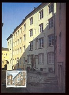 Luxembourg - Carte Maximum 1982 - Musée De L 'Etat - O 210 - Maximum Cards