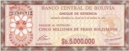 Bolivia  P-193  5000000  Bolivianos  1985  UNC - Bolivie