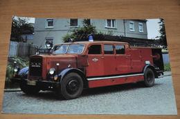 4813- MAN D 1, 1936, LÖSCHFAHRZEUG / FEUERWEHR / BRANDWEERAUTO / FIRETRUCK / CAMION DE POMPIER / / Auto / Car / Coche / - Ansichtskarten