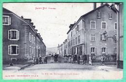 SAINT DIE - LA RUE DES TRAVAILLEURS - COTE OUEST - Saint Die