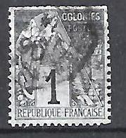 Colonial 1881-86 (o) 1c - Alphee Dubois