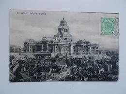 CPA  Palais De Justice , Justitiepaleis - Monuments, édifices