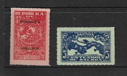 PANAMA 1928 VISITE DE LINDBERGH  YVERT N°157/58  NEUF MNH**/MLH* - Panama