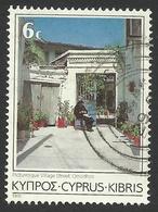 Cyprus, 6 C. 1985, Sc # 645, Mi # 631, Used. - Cyprus (Republic)