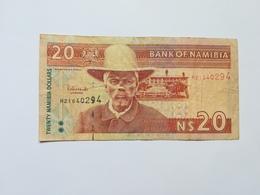 NAMIBIA 20 DOLLARS - Namibie