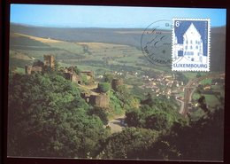 Luxembourg - Carte Maximum 1982 - Château De Bourscheid - O 226 - Maximum Cards