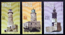 MALTA  2001  Lighthouses  MiNr.1159-61   MNH (**) ( Lot  F 348) - Malte