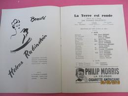 L'Atelier/Théatre Charles DULLIN/La Terre Est Ronde/Armand SALACROU/Mouloudji/Primaquatre RENAULT/1939      PROG193 - Programs