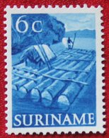 6 Ct Inheemse Voorstellingen  NVPH 300 (Mi 335) 1953-1954 POSTFRIS / MNH SURINAME / SURINAM - Surinam ... - 1975