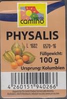 Et037 - Label Physalis (Colombia) - Fruits & Vegetables