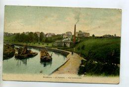 59 MAUBEUGE Batellerie Peniche Chargée Sur La Sambre  écrite En  1907   /D07-2015 - Maubeuge