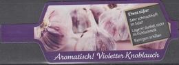 Et038 - Label Violet Garlic - Fruits & Vegetables