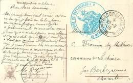 Cachet Laboratoire De Bactériologie Sur Cpa Secteur Postal 5  1915 - Storia Postale